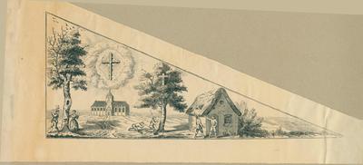Bedevaartvaantje, Heilig Kruis, Asse
