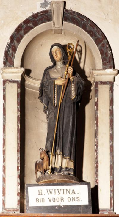 Beeld van Sint-Wivina