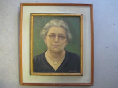 portret Augusta Mertens