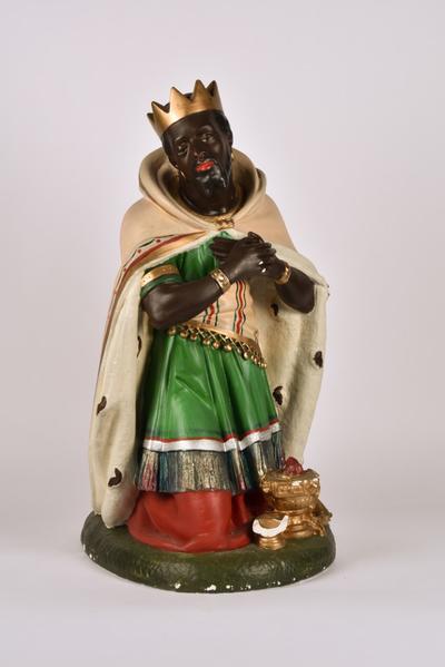 Kerststalfiguur 'Koning Balthazar'