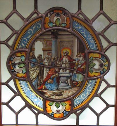 Het doopsel van de heilige Jacobus de Meerdere