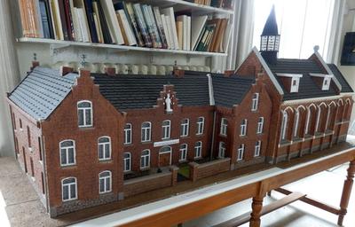 Maquette van het Sint Jan Berchmanstehuis