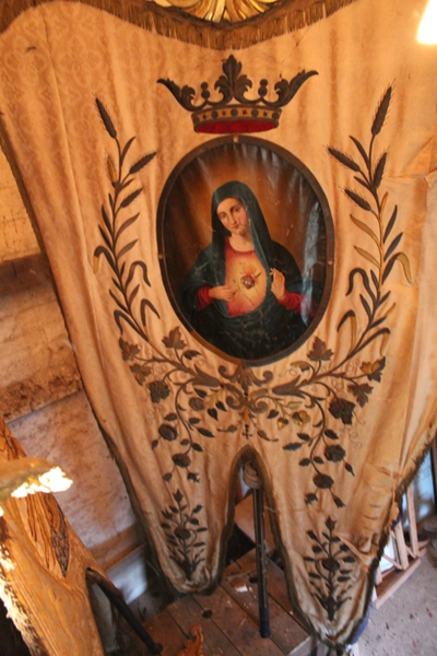 Processievaandel van Onze-Lieve-Vrouw Heilig Hart
