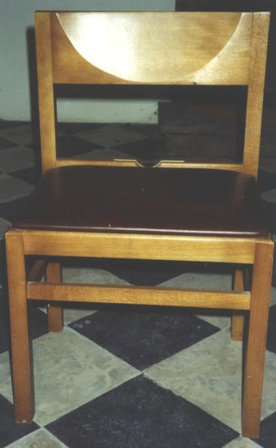 stoelen voor kerkgangers