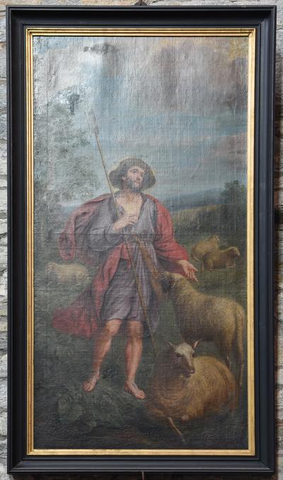 Schilderij 'Heilige Drogo'