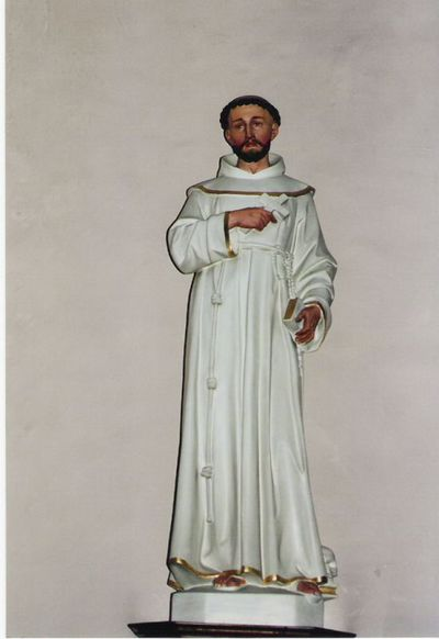 beeld van Franciscus van Assisi