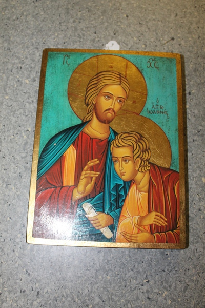 Christus en Johannes