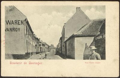 Souvenir de Beeringen. Rue Notre Dame