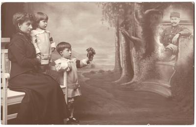 Familieportret 1914-1918 Landen
