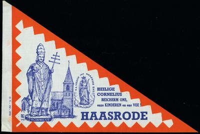 Bedevaartvaantje, Sint-Cornelius, Haasrode
