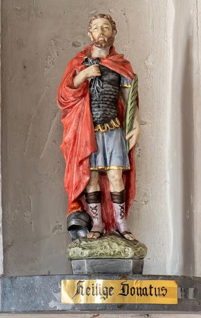 Beeld Heilige Donatus Kapel Zavelstraat