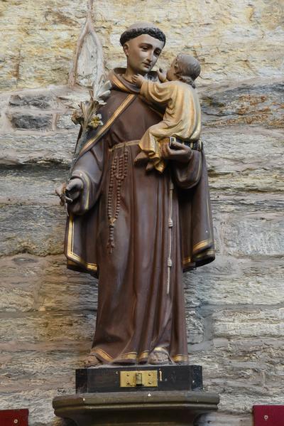 Beeld 'Heilige Antonius met Kind'
