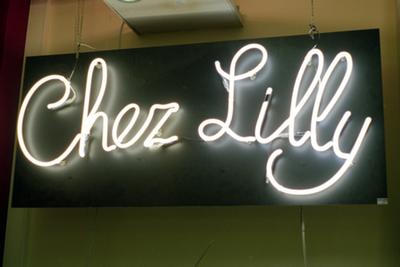 Neon lichtreclame - Chez Lili