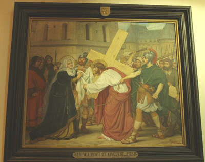 kruiswegstatie VI