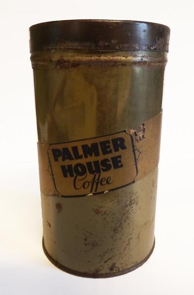 Blikken doos Palmer Hous Coffee