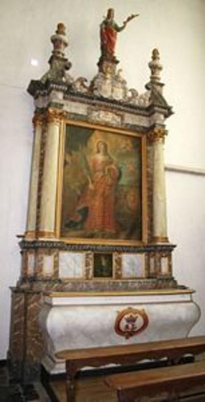 Altaar van de heilige Lucia