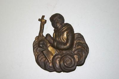 Flambeeuwschild met H. Franciscus