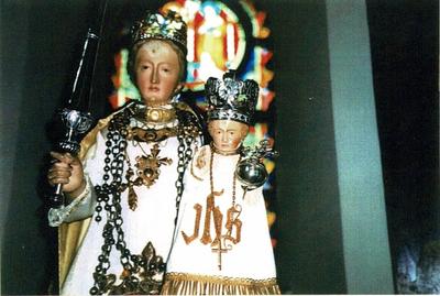 O.L.Vrouw met kind Jezus