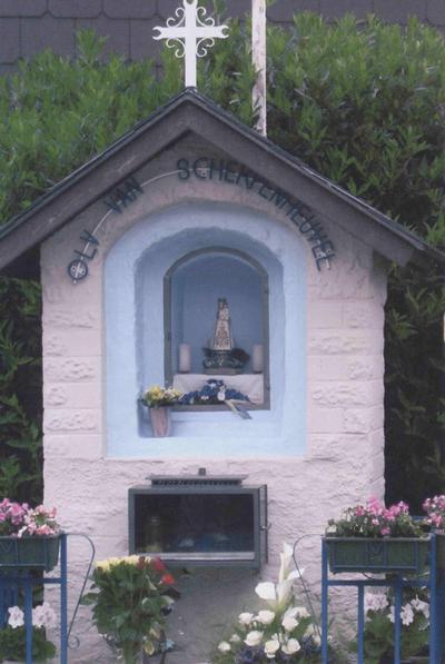 foto kapelletje O.L.V. van Scherpenheuvel te Attenhoven