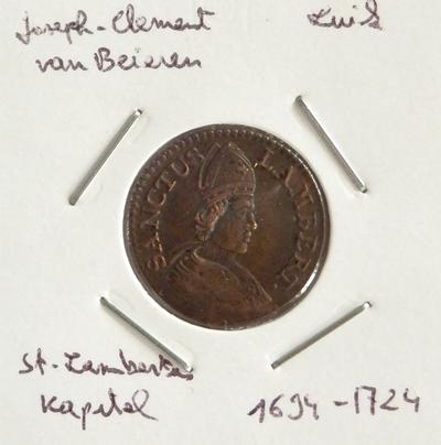 Sint Lambertus kapitel, 11694-1724, Jozef-Clemens van Beieren
