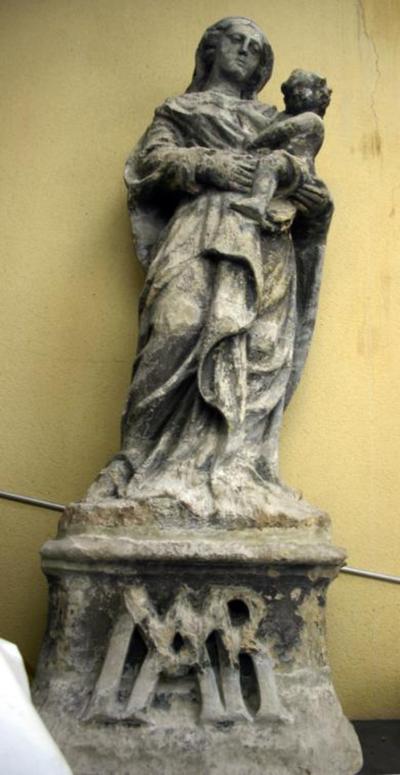 Maria met het kind Jezus