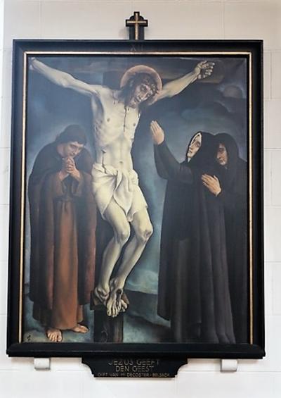 Kruiswegstatie XII: Jezus sterft aan het kruis