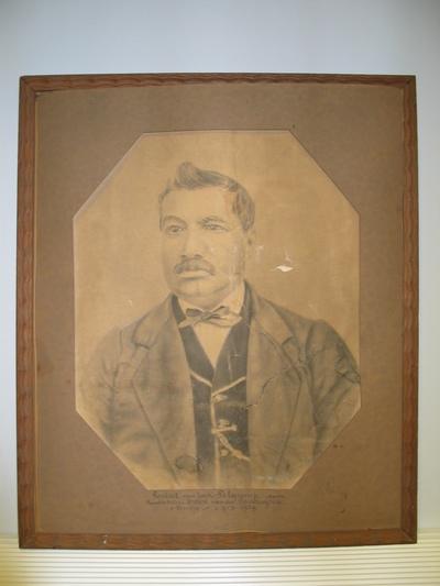 Portret van Jan Pelgrims door Van den Panhuysen, Ernest