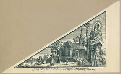 Bedevaartvaantje, Sint-Amandus, Hoeleden