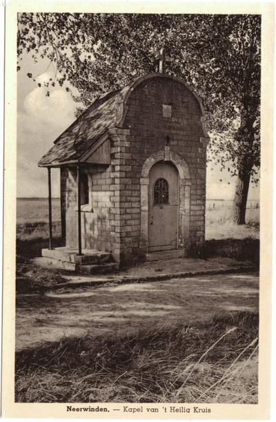 Neerwinden - Kapel van 't Heilig Kruis