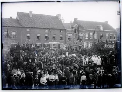 De feeststoet in 1919