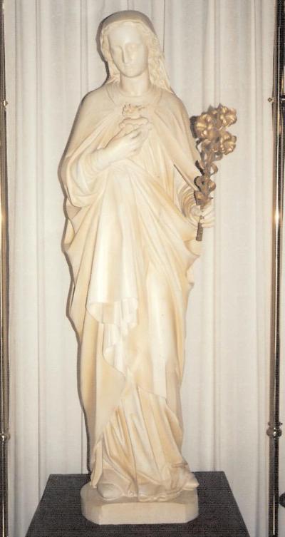 O.L.Vrouw : Onbevlekt Hart van Maria (met lelie)