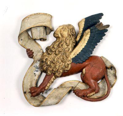 Leeuw van het triomfkruis in de Sint-Pieterskerk