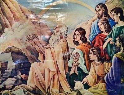 8. Toen bouwde Noe een altaar voor Jahweh