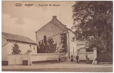 Wamont- Waasmont, Propriété Me Deleydt, herenhuizen