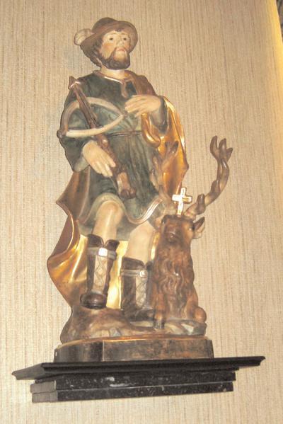 Heilige Hubertus als jager