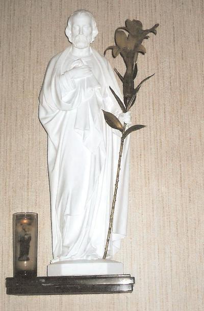 Heilige Jozef met leliënstaf