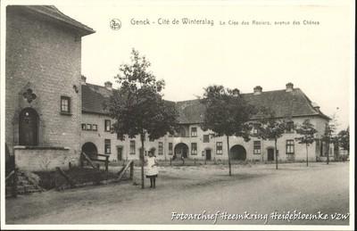 Genck - Cité de Winterslag Le Clos des Rosiers, avenue des Chênes