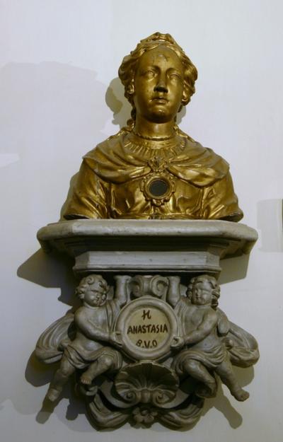 Reliekbuste van de Heilige Anastasia