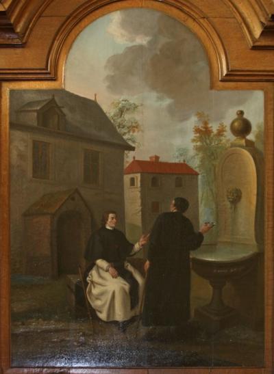 Johannes van Eppa bij de bron