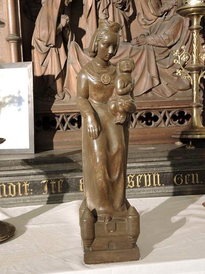Maria met kind (Sint-Jozefaltaar)