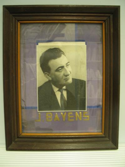 Portret van Jos Bayens, burgemeester van Baal en volksvertegenwoordiger in de jaren '60