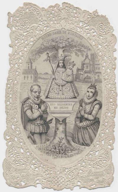 Devotieprentje O.L.V. van Scherpenheuvel