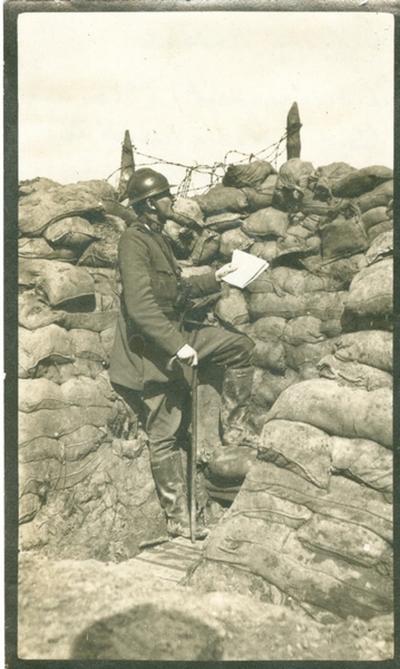 Luitenant Arthur Lupsin.