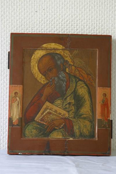 Johannes de theoloog in het zwijgen