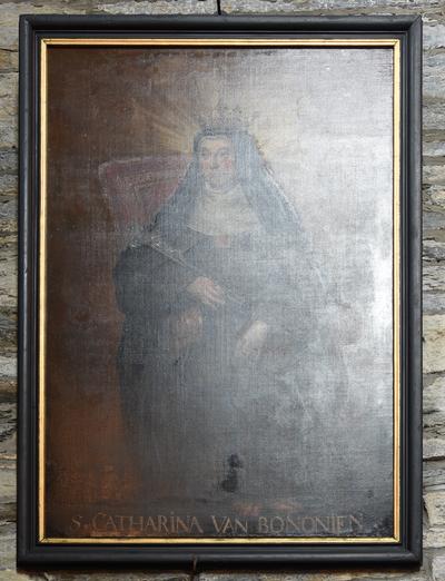 Schilderij 'Heilige Catharina van Bologna