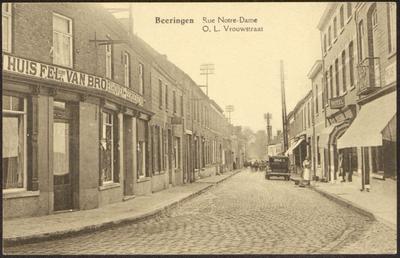 Beeringen. Rue Notre-Dame O.L. Vrouwstraat