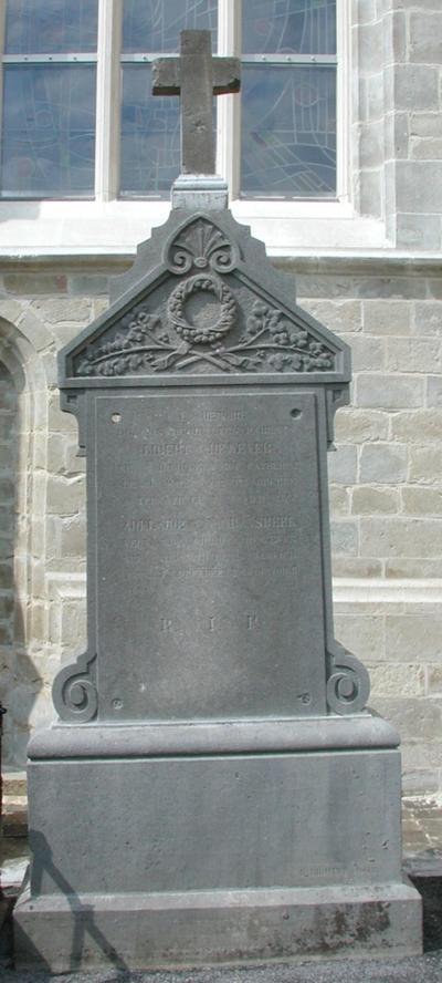 grafmonument De Wever en Van Ransbeek