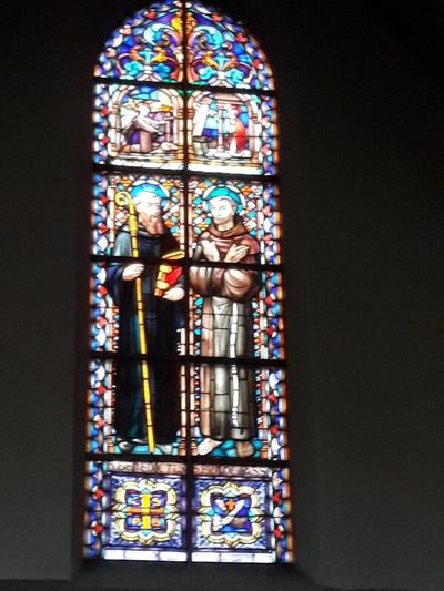 Benedictus en Franciscus