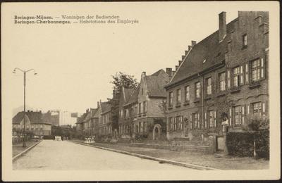 Beringen-Mijnen. - Woningen der Bedienden Beringen-Charbonnages. - Habitations des Employés
