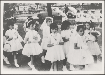 Processie - bloemengroep (1958).